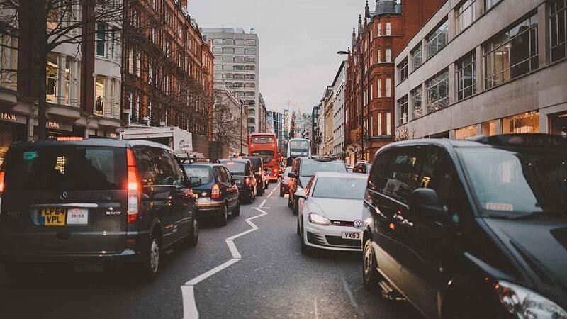 Rua em Londres - Inglaterra