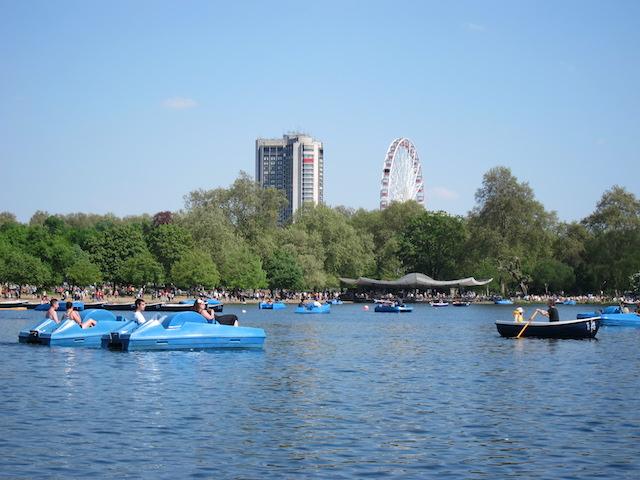 Características do Hyde Park em Londres