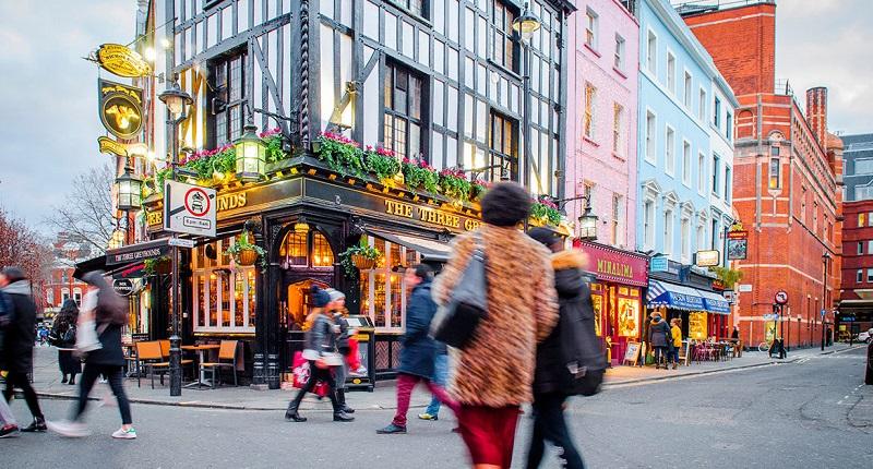 Região deSoho em Londres
