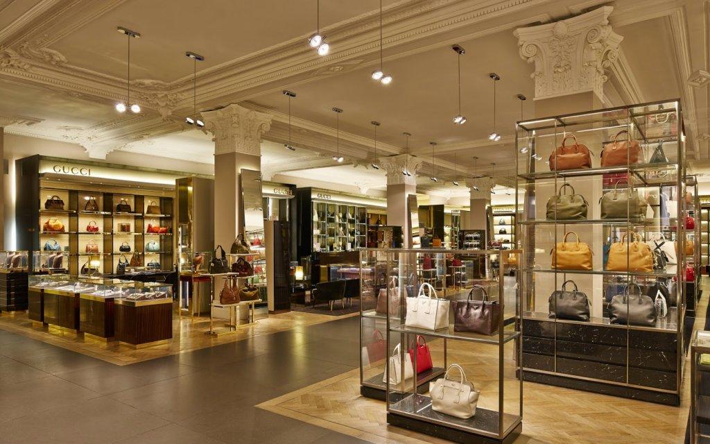 Loja de departamentos Harrods em Londres