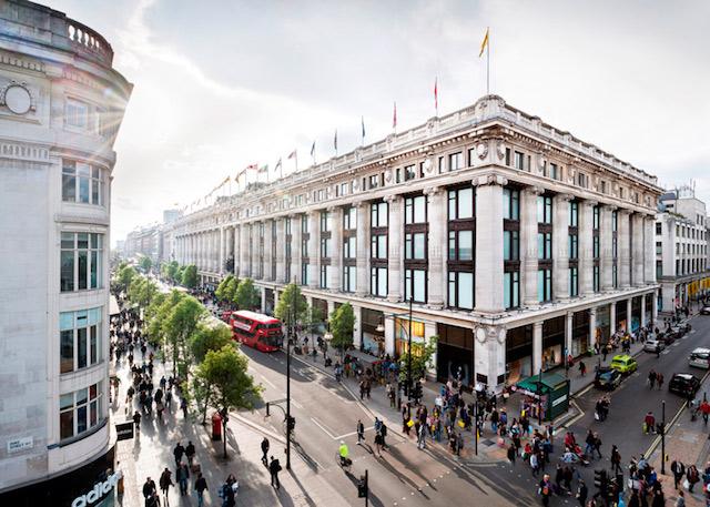 Loja de departamentos Selfridges em Londres