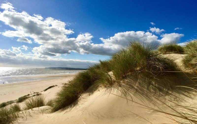 Praia Camber Sands, East Sussex