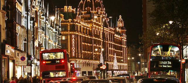 Noite de Natal em Londres