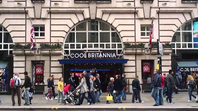 Cool Britannia em Londres