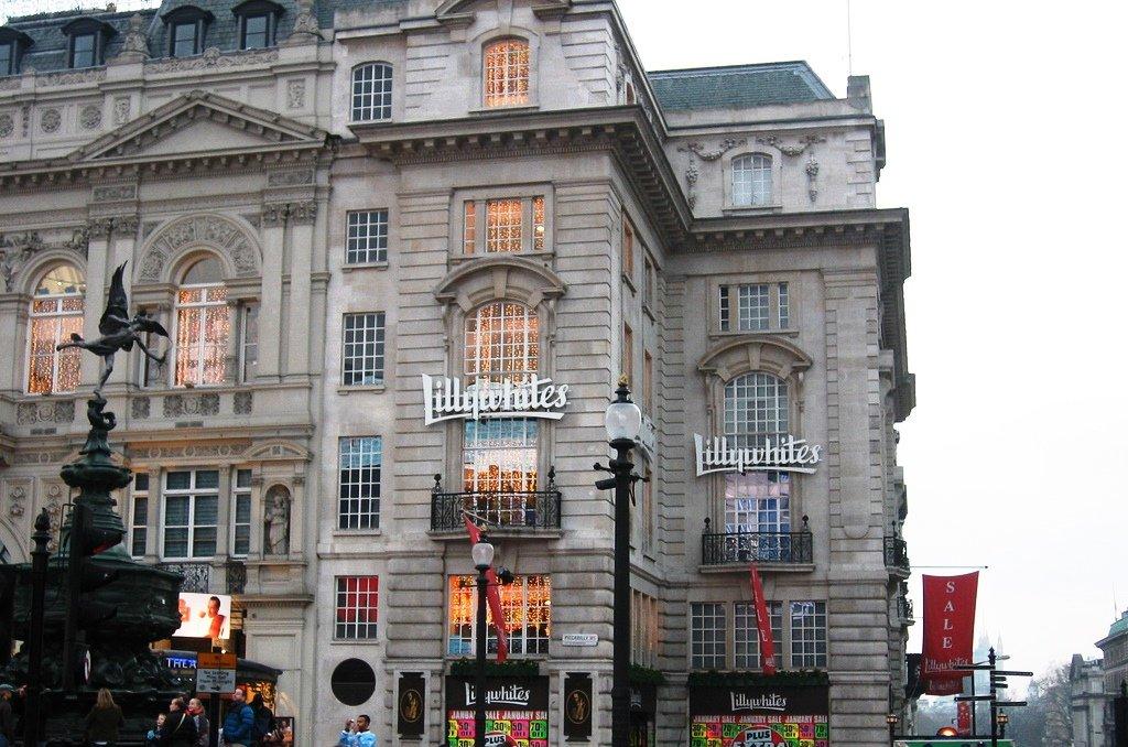 Loja Lilywhites em Londres