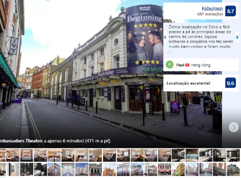 The Resident Soho em Londres