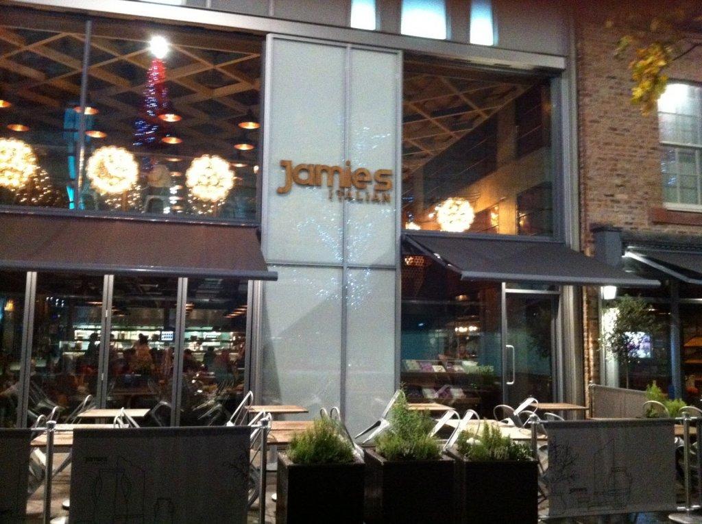 Restaurante Jamie's Italian em Liverpool