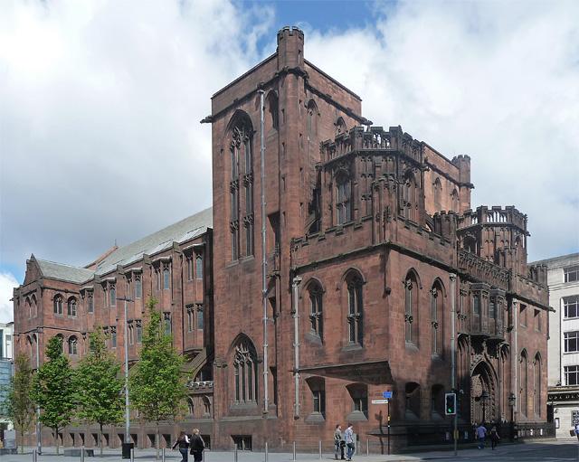 John Rylands Library, em Manchester