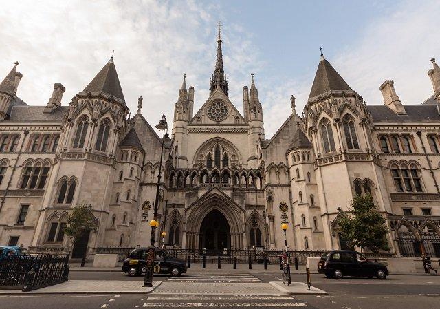 Royal Courts of Justice em Londres