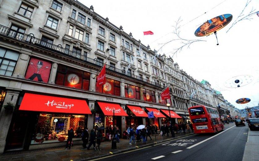 Hamleys em Londres