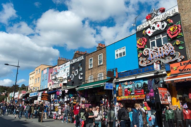 Camden Market em Londres