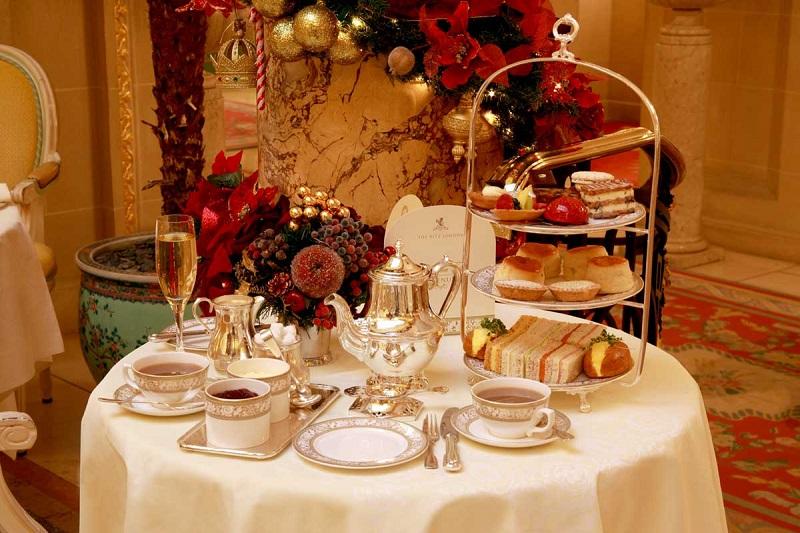 Café do hotel Ritz em Londres