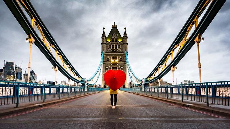 Viajando sozinho para Londres e Inglaterra