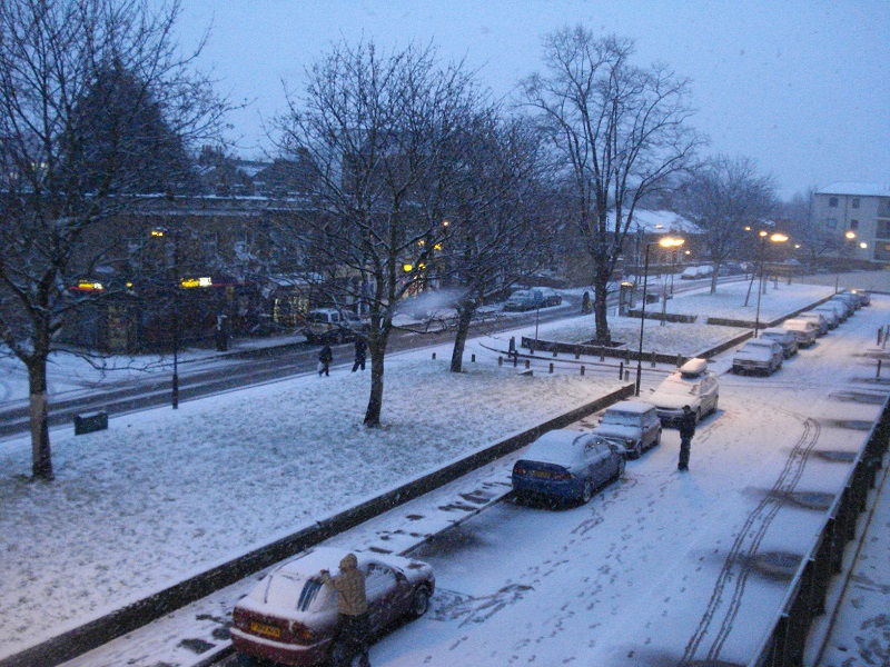 Londres em janeiro