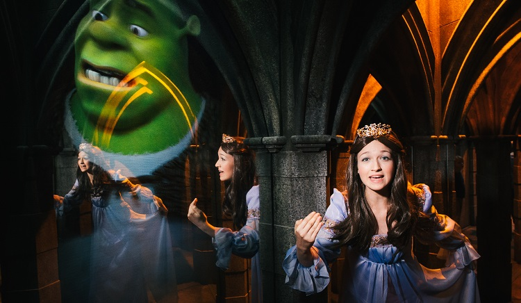 Shrek's Adventure em Londres