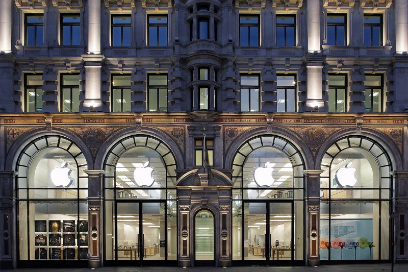 Loja Apple na Regent Street