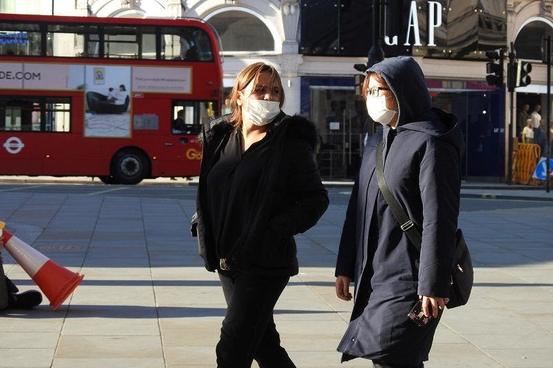 Londres na pandemia do coronavírus