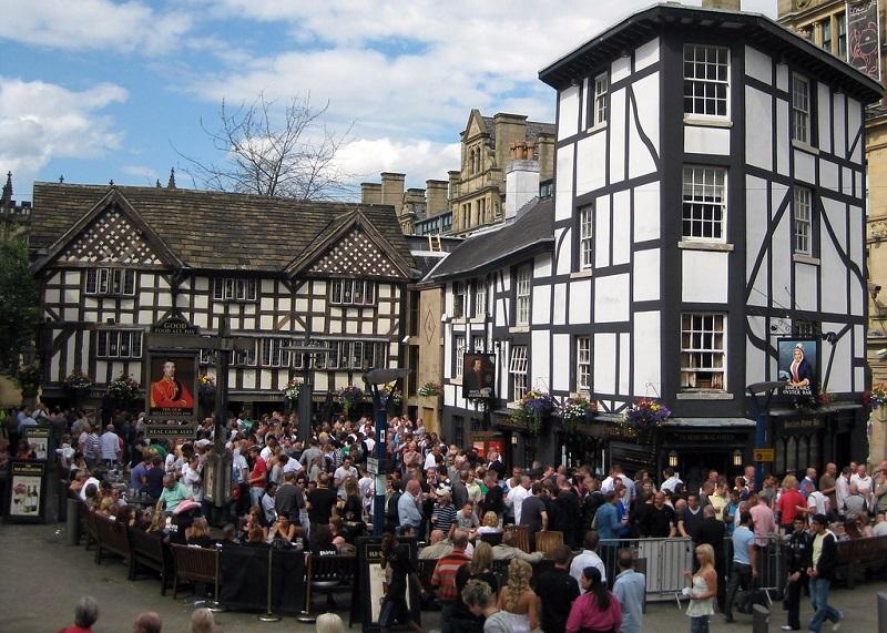 Sinclair's Oyster Bar em Manchester
