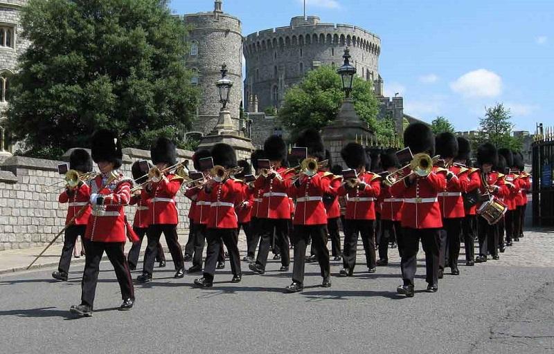 Troca de guardas em Windsor