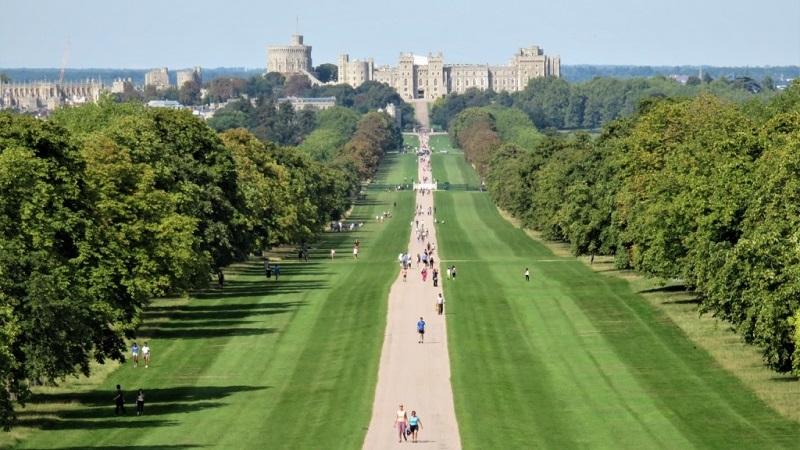 Long Walk em Windsor